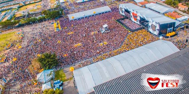 SALVADOR FEST CONFIRMADO DIA 23 DE SETEMBRO, DAQUI A 06 MESES
