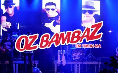 DVD PROMOCIONAL – OZ BAMBAZ AO VIVO NO MARANHÃO