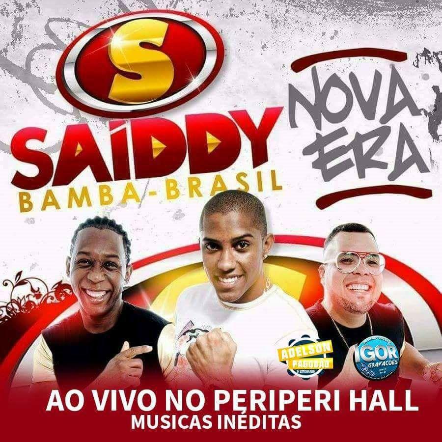 SAIDDY BAMBA – AO VIVO NO PERIPERI HALL 2018